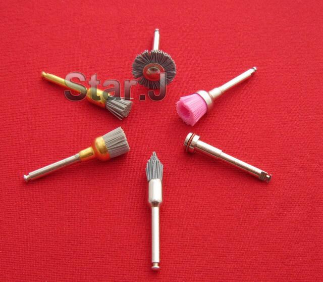30pcs Silicon Carbide Polishing Polisher Assorted Brushes Latch Type(6pcs/kit)