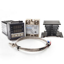 Digital Pid Temperature Controller Rex C100 40da Ssr Relay K Thermocouple Rkc