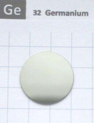 2.3 gram Germanium disk 99.999% 25x0.9 mm element 32 sample