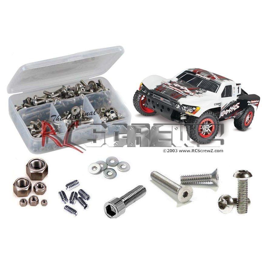RC Screwz Screwz Screwz Traxxas Slash 4x4 OBA Stainless Steel Screw Set Kit TRA060 - FREE SHIP 8856c5