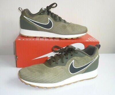 Mens Nike MD Runner 2 Eng Mesh Cargo Khaki 916774 300 Trainers