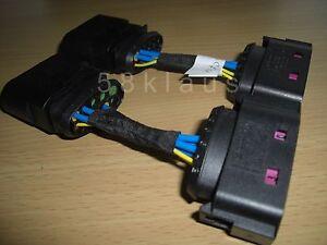 vw golf mk4 4 iv gti r32 bora xenon headlights adapter cable set harness ebay. Black Bedroom Furniture Sets. Home Design Ideas