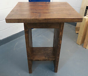 Image Is Loading Rustic Cafe Bistro Bar Table