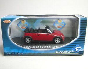 Mini Cooper Cabriolet Red 2005 3467300151035 Ebay