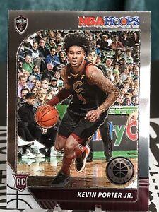 2019-20 NBA Hoops Premium Stock Kevin Porter Jr. Rookie Base Card # 225.  Cavs
