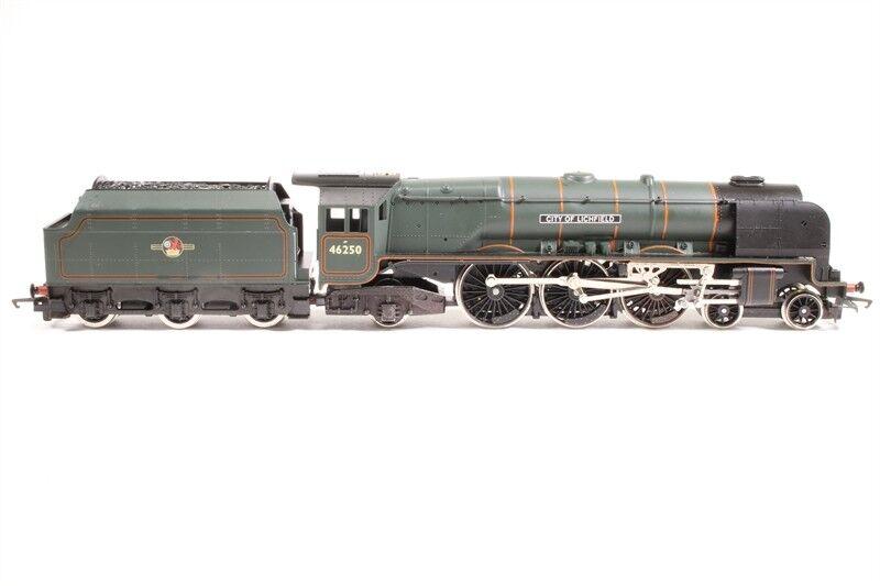 Hornby R379 Cl 8P 4 -6 -2 46250 City of Lichfield BR grön L   Edt Nära Mint låda