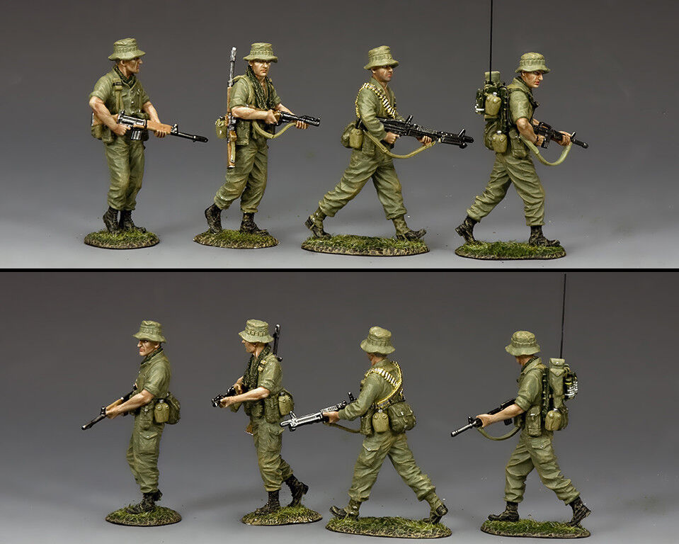 KING AND COUNTRY Vietnam War - Australian Patrol Section VN030