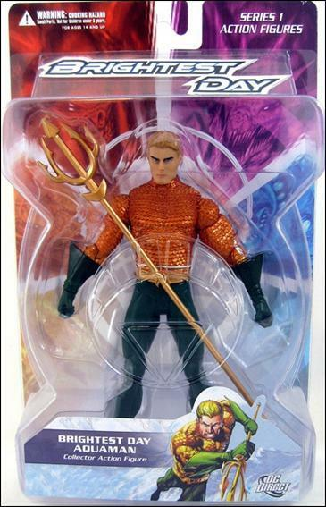 DC Direct Brightest Day Series 1 Aquaman Action Figure