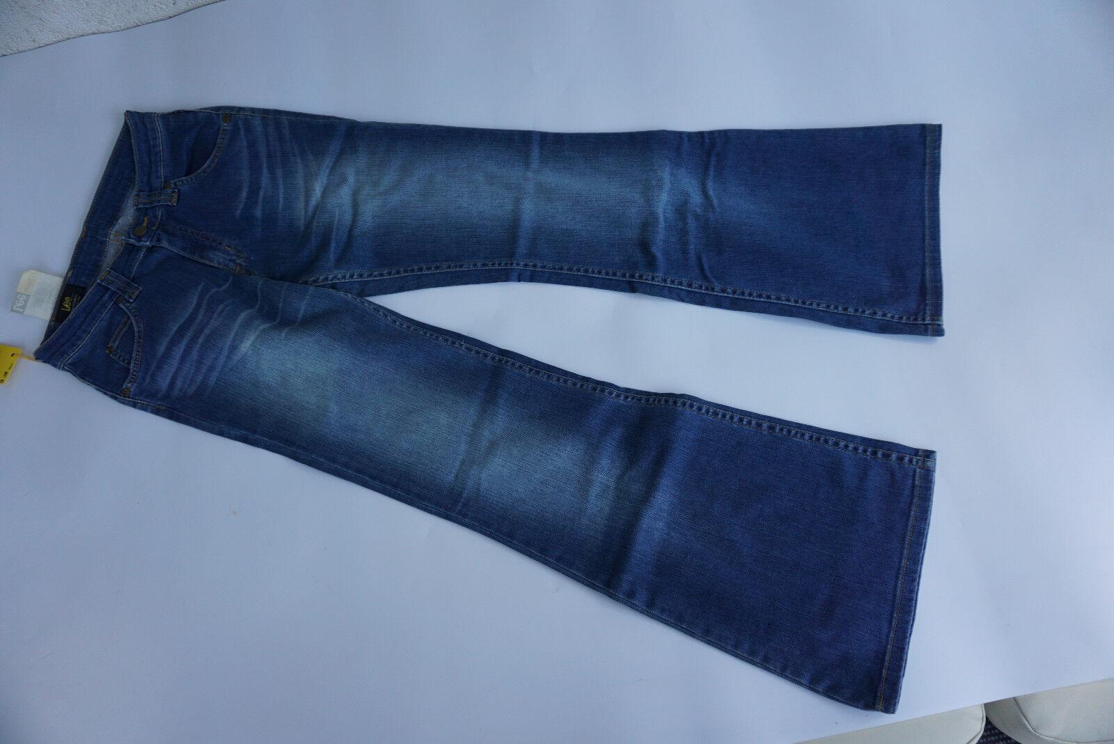 LEE Felton Flare Low waist Jeans stretch Hose slim fit Schlag W27 L32 NEU L1