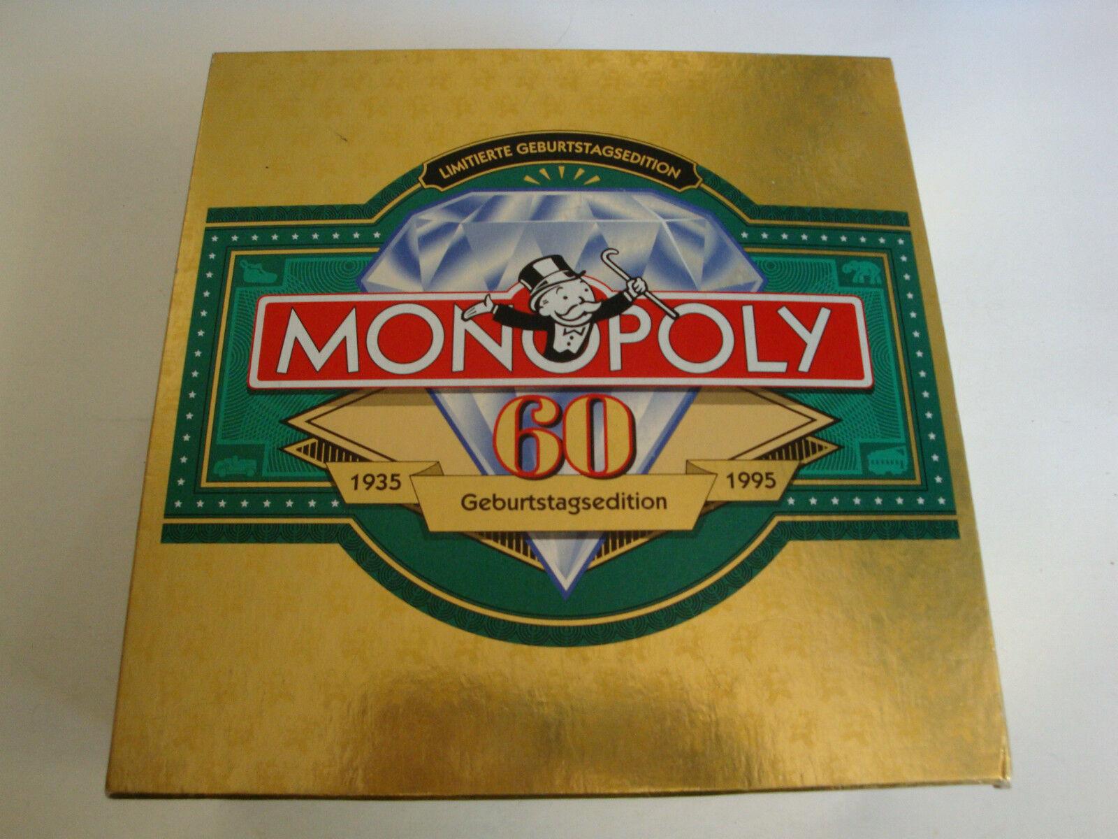MONOPOLY 60 ans anniversaire edition (1935-1995)