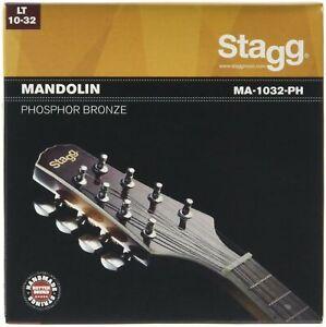 Rechercher Des Vols Stagg 14586 Lumière Bronze Mandolin String Set-marron-afficher Le Titre D'origine PosséDer Des Saveurs Chinoises