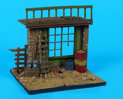 1//35 Resin House Ruin Base 10*9 cm Unassembled Unpainted 35999