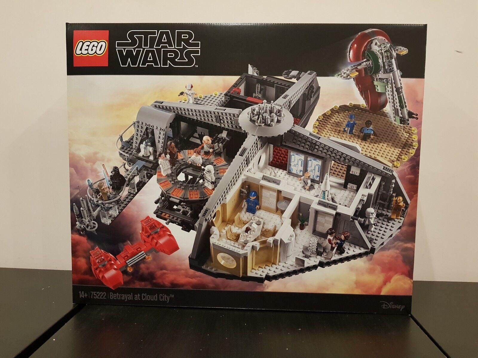 75222 LEGO STAR WARS TRADIUomoTO A Cloud CITY SIGILLATO Nuovo di zecca e
