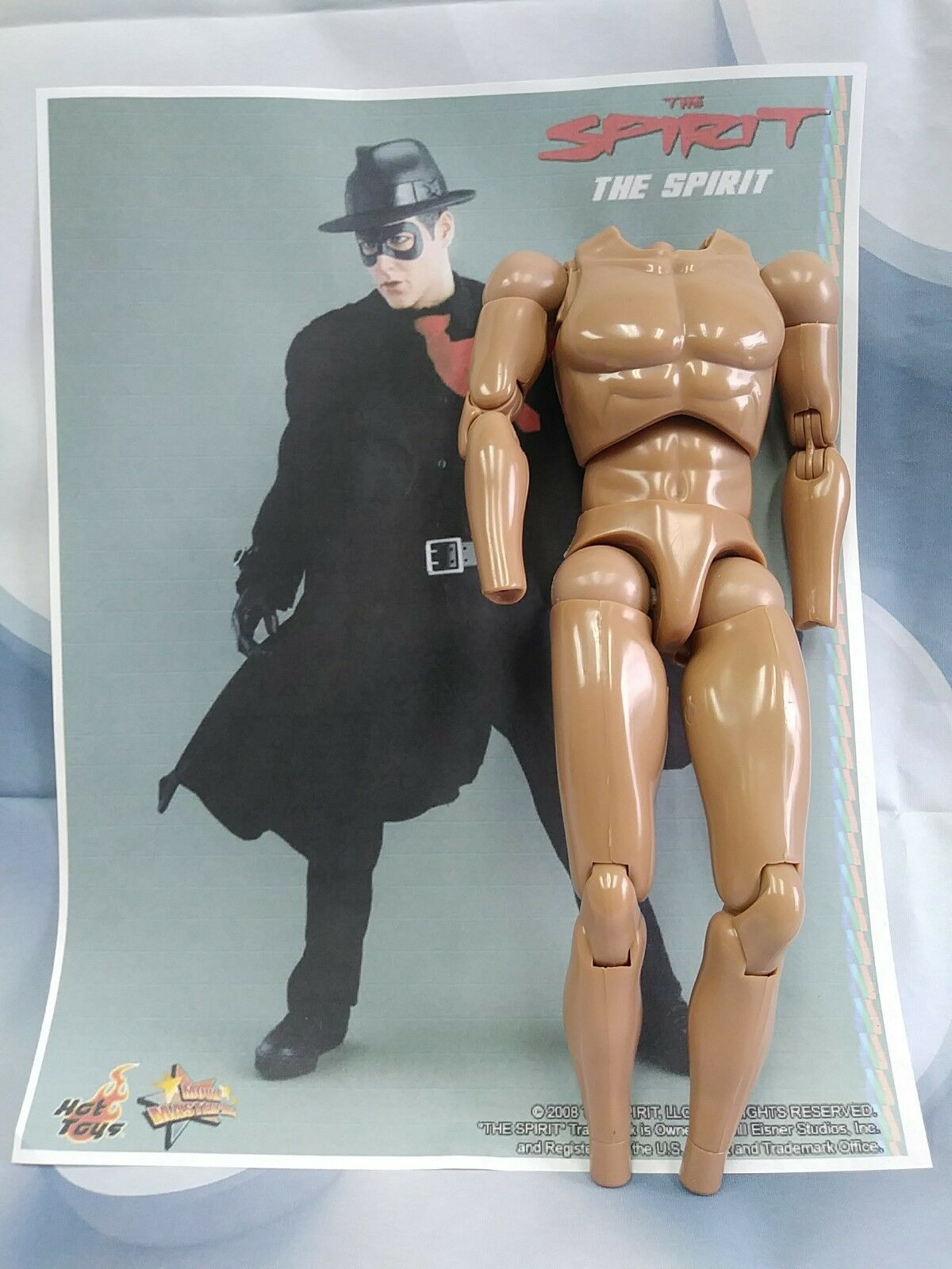 1 6 Hot Toys The Spirit Denny Colt MMS85 Body Muscular US Seller