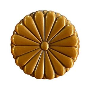Chrysanthemum-Emblem-Pin-Used-By-The-Emperor-Of-Japan-And-The-Imperial-Family