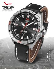 Vostok-Europe Almaz Automatic Leather Strap NH35A/320A258 $559