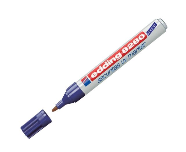 Edding 8280 Sécurité UV Marqueur - Qualité Professionnelle