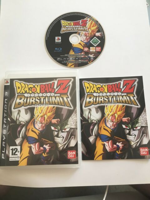 😍 jeu playstation 3 ps3 pal fr dragon ball z burstlimt version française