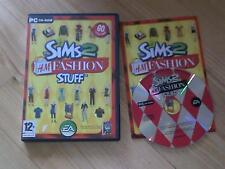The Sims 2 H&M Fashion Stuff Expansion Pack PC CD ROM