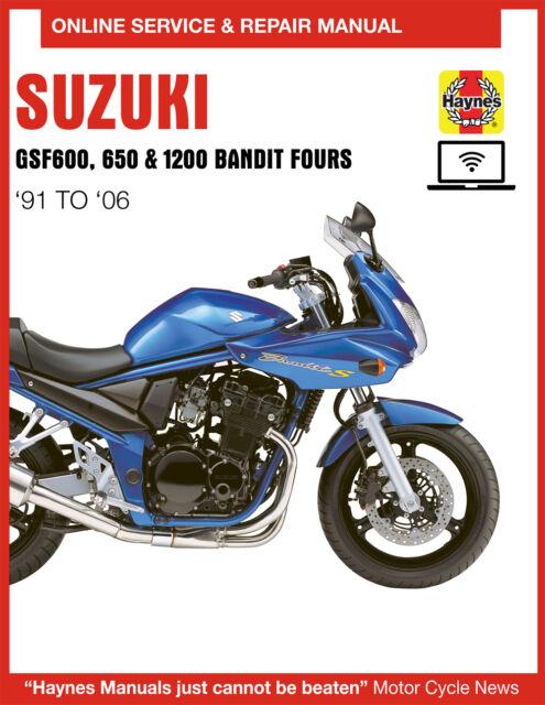 1997 Suzuki Bandit 1200 Haynes Online Repair Manual