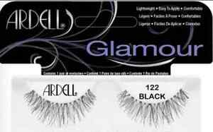 32b1649786c LOT OF 4) Ardell Natural 122 Authentic Ardell Eyelashes Black Strip ...