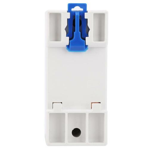 LCD Digitaler Stromzähler 1-Phasen Drehstromzähler Hutschiene KWH Zähler 5~80A ❤