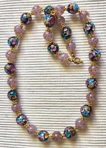 collier perle murano