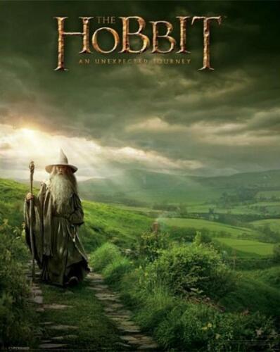Gandalf /'el Hobbit/'Unexpected Viaje Mini Póster 40cm x 50cm Nuevo y Sellado