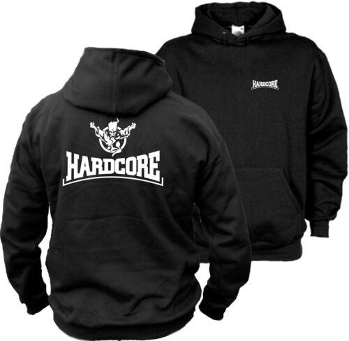 GABBER-Wizzard Angerfist-MOH hoodie 6 Hardcore con cappuccio Pullover Motivo