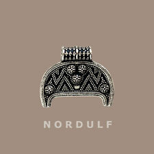 VIKING Silver Lunula Pendant - Fertility symbol from Birka Sweden - Freya LUNIK