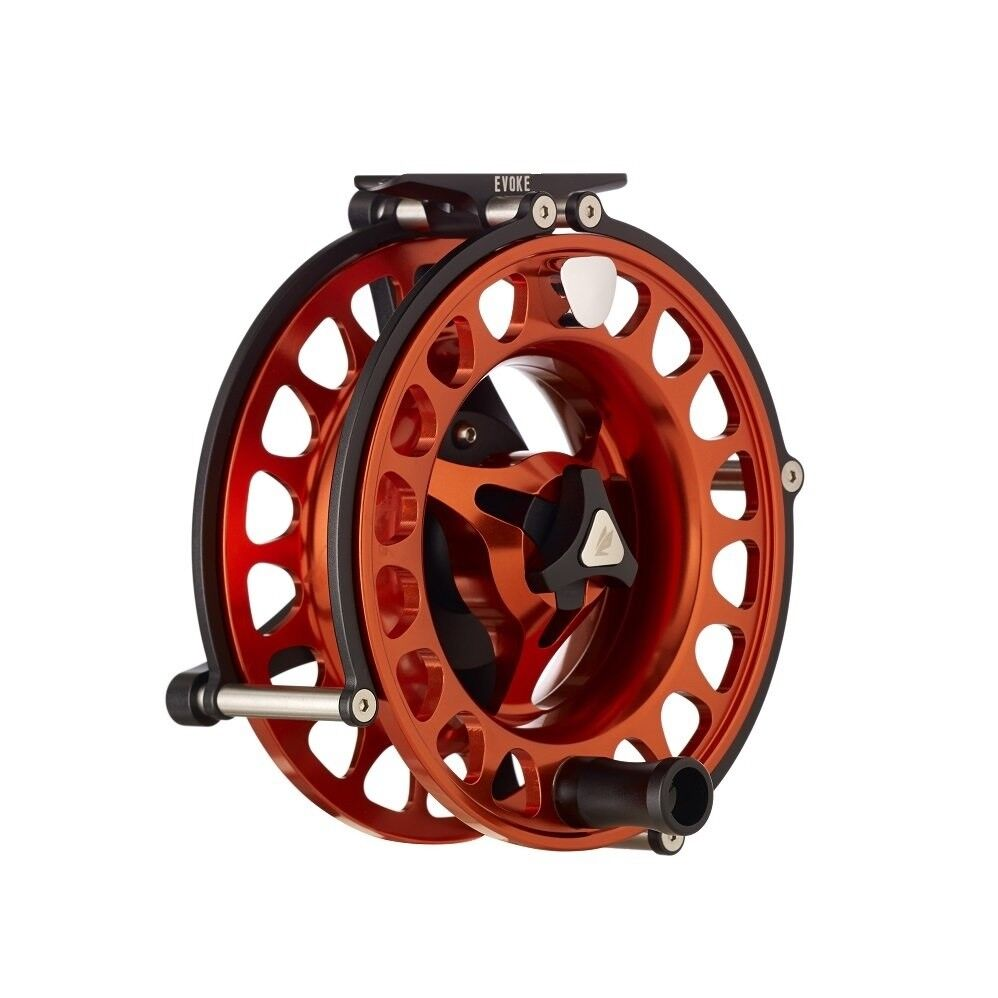 Sage Evoke Fly Reel - Right Hand - Blaze - New - Closeout