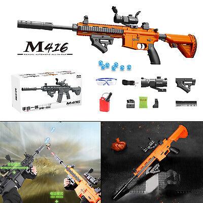 Toy Gun Weapon M416 Automatic /& Manual Gun Kids Water Bullets Guns Blaster CS US