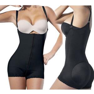 6b81d06f7e141 Image is loading Women-Body-Shaper-Underbust-Tummy-Control-Shapewear -Bodysuit-
