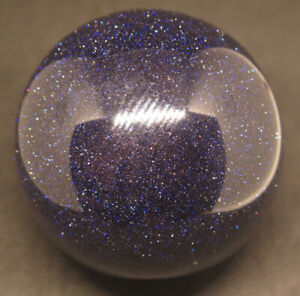 Details about Huge 88mm Polished Blue Sand Stone Crystal Sphere Ball