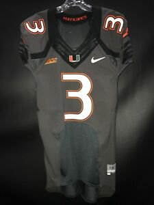 wholesale dealer 32724 4dee5 3 STACY COLEY MIAMI HURRICANES SIGNED GAME USED SMOKE NIKE ...