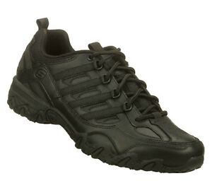 76492 SKECHERS  WOMEN WORK SHOES NURSE COMFORT SLIP RESISTANT Black