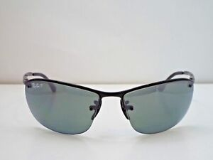 cce5ee074c AUTHENTIC RAY-BAN NEW RB 3542 002 5L BLK GREY MIRROR CHROMANCE ...