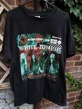 1995 White Zombie Astro-Creep 2000 Cotton Black Men S-4XL T-Shirt C574