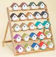 Wren Bird House - Amish Handmade Weatherproof Poly Hanger - 17 Color Choices Usa