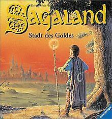 Sagaland, Bd.2, Die Stadt des Goldes von Morris, Da... | Buch | Zustand sehr gut
