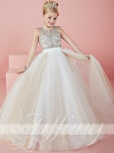 Girls Pageant Dresses Formal Princess Ball Gowns Kids Dance ...