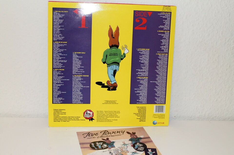 LP, Jive Bunny and the Mastermixers, It's Party Time