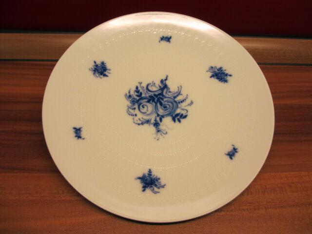 6 x Kuchenteller Teller Rosenthal Romanze blau 19,5 cm