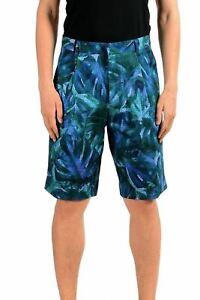 Hugo-Boss-034-Himon-034-Men-039-s-Multi-Color-Pleated-Casual-Shorts-US-s-IT-48
