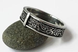 Outlander Wedding Ring Celtic Knot Sporran Key Thistle