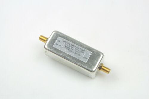 Filtronetics Crystal Bandpass Filter Fo=70Mhz BW=7KHz Model FN-1775WF