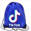 Boys-Girls-Tik-Tok-Drawstring-Backpack-PE-Swim-Gym-Sports-School-Bag-Rucksack-UK thumbnail 5
