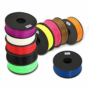 1.75mm/3mm ABS 1kg/2.2lbs 3D Printer Printing Plastic Filament for FDM Print