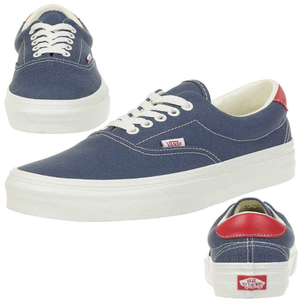 Los últimos zapatos de descuento para hombres y mujeres Vans Classic era 59 vintage cortos skater unisex canvas Indigo