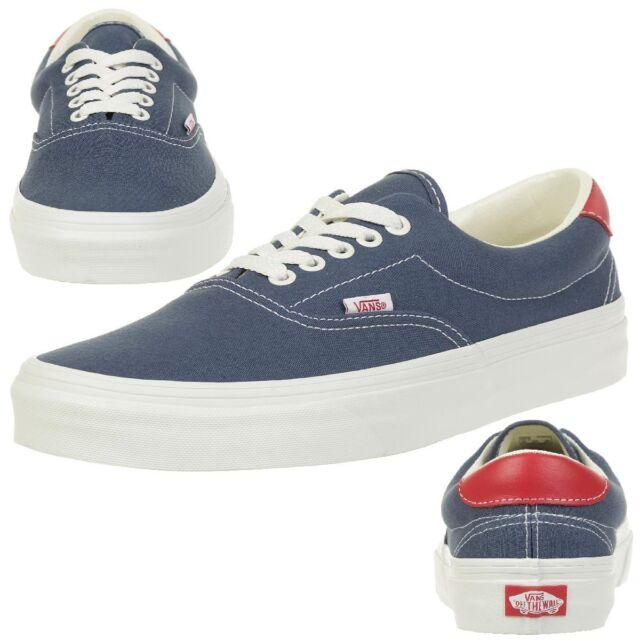 4637086a4820ad Vans Classic Era 59 Vintage Skater Trainers Unisex Canvas Indigo